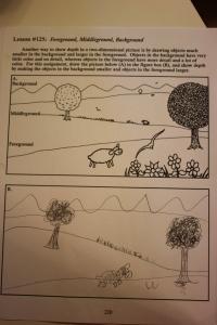 Art lesson: