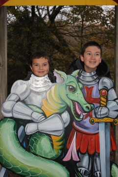 "The two cutest ""knights in shining armor"" EVER!!!"